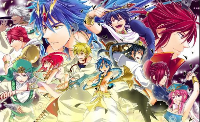 Magi: The Labyrinth of Magic - Top Best Anime Like Black Clover list