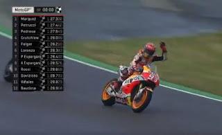 Marquez Pole Position MotoGP Sachsenring Jerman 2017
