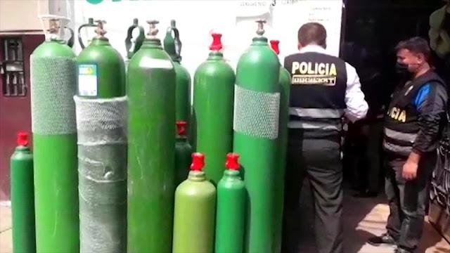 Mafias se apoderan del mercado de oxígeno medicinal en Perú