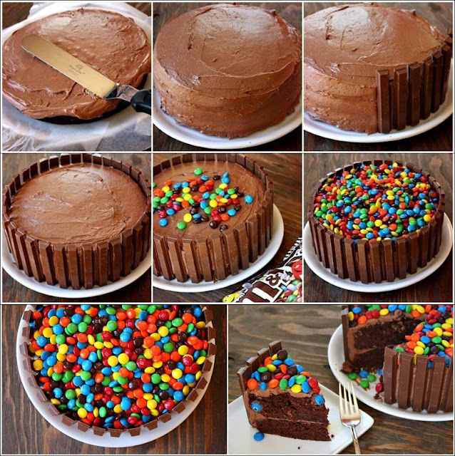 Kit Kat Cake Recipe In Urdu