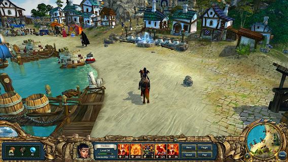 King's Bounty: Dark Side ScreenShot 01
