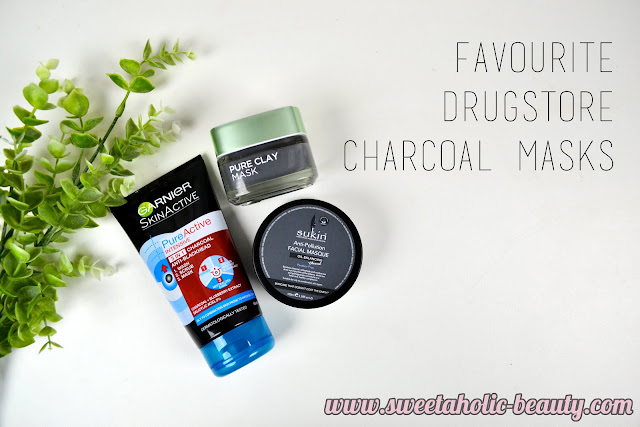 Favourite Drugstore Charcoal Masks - Sweetaholic Beauty