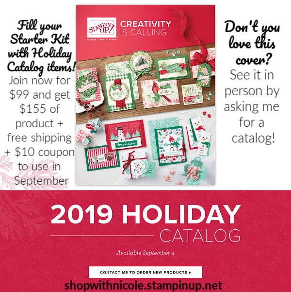 Stampin' Up! Holiday 2019 Catalog cover