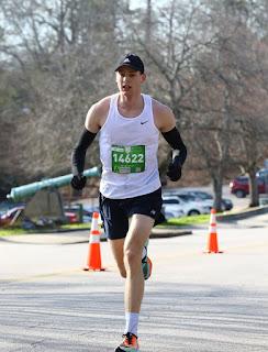 Zachary Matthews running.