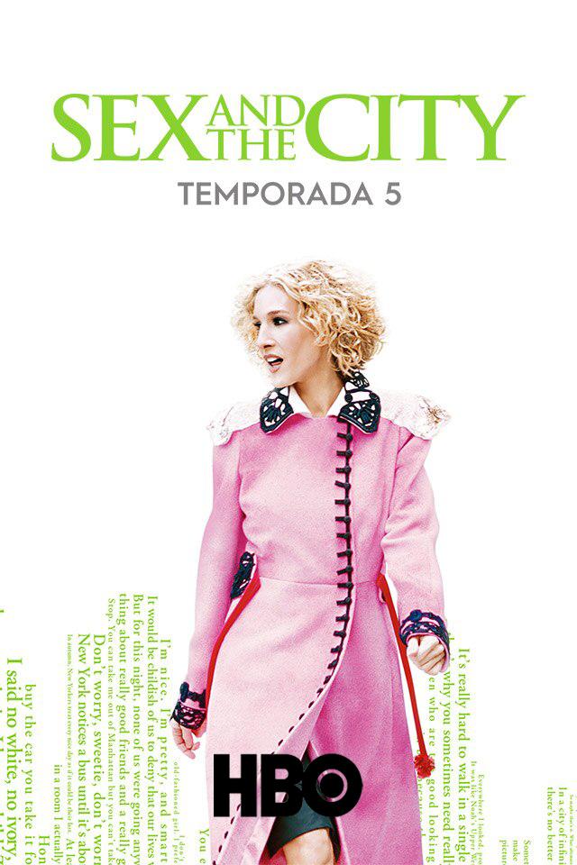 Sex and the City (2002) Quinta Temporada [Remastered] HBO WEB-DL 1080p Latino
