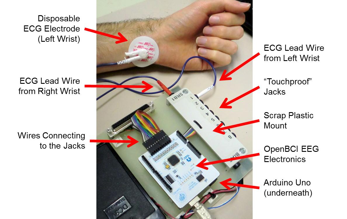 EEG Hacker: Collecting ECG with my EEG setup