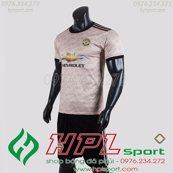 Áo câu lạc bộ MU màu kem 2020