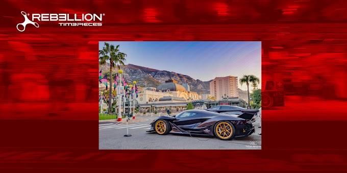 REBELLION Timepieces - 世界屈指のスーパーカーの祭典「Top Marques Monaco」の公式パートナーに