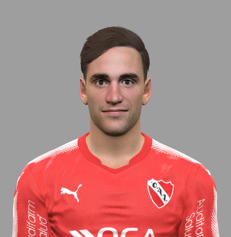 PES 2017 Nicolás Tagliafico (Club Atlético Independiente) Face by Facemaker DanielValencia_EA