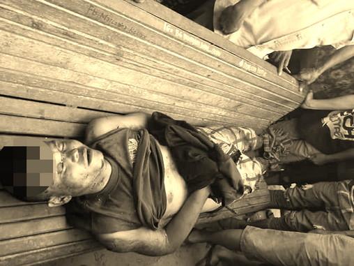Warga Tanjung Menang Temukan Mayat