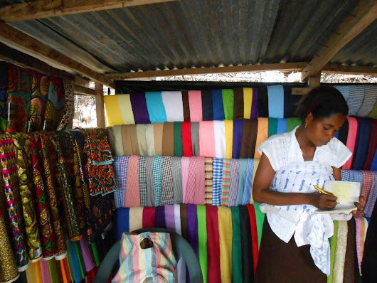 Day 42- Last spectro analyses and Market in Juapong for African souvenirs.