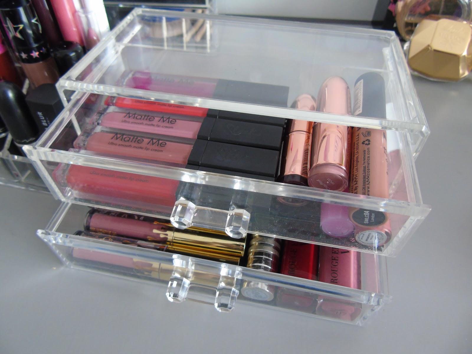 jeezlouisexo: Primark Makeup Storage Review
