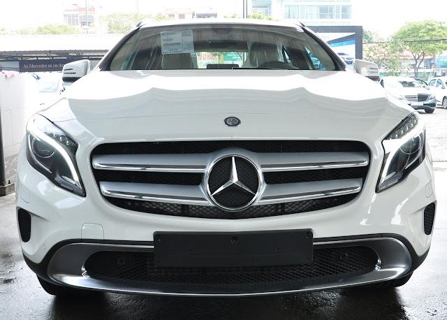 Lưới tản nhiệt Mercedes GLA 200 thiết kế đầy sức cuốn hút