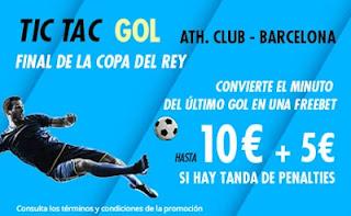 suertia promo copa Athletic vs Barcelona 17-4-2021