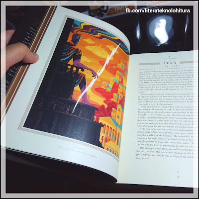 mythology 75th anniversary illustrated edition sample illustration
