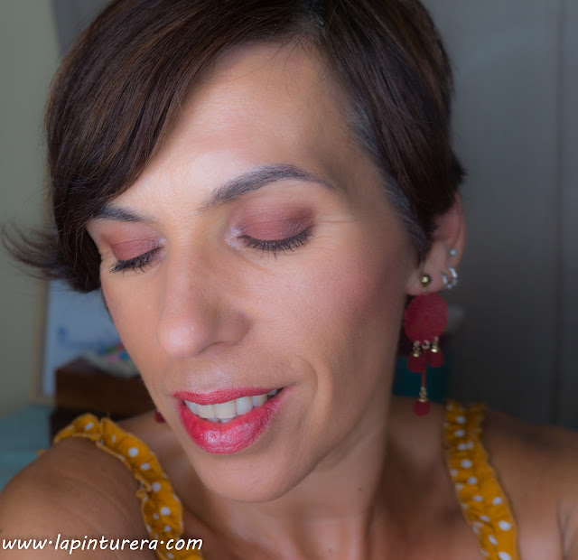 maquillaje burdeos