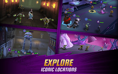 Ninja Turtles: Legends Apk v1.3.7 Mod (Unlimited Money)