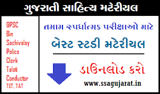 Gujarati Sahitya Best Study Material Competitive Exam
