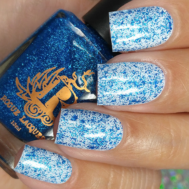 Rogue Lacquer - Delphinium Out of Water