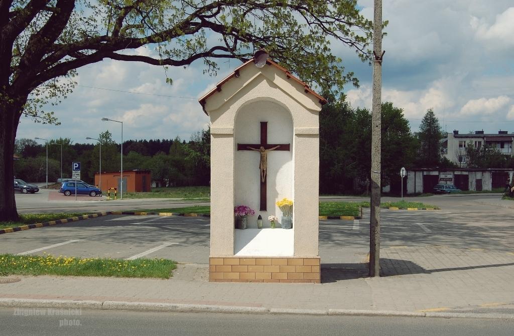 Orneta, kapliczka przydrożna