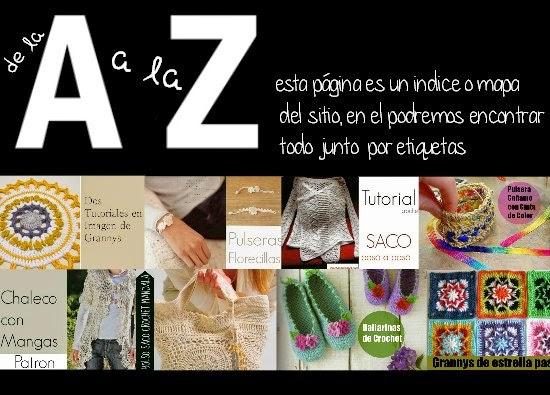 indice, categorías, patrones crochet, manualidades, enrhedando, ganchillo