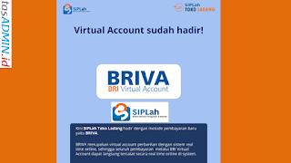 Belanja SIPLah Kemdikbud Bayar via BRIVA BRI