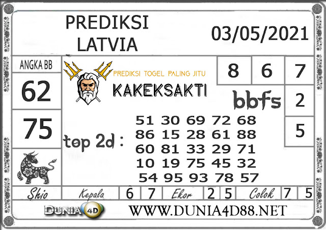 Prediksi Togel LATVIA DUNIA4D 03 MEI 2021