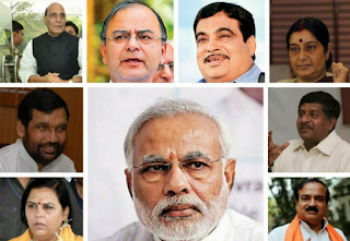 List of Cabinet Ministers of India 2018