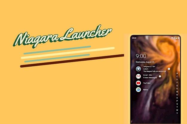 εναλλακτικός launcher για Android Smartphones