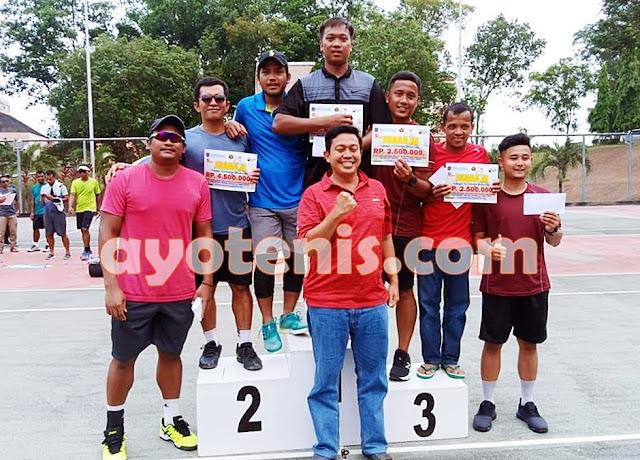 Iqbal Bilal/Ramdhan Wahyu Sabet Gelar Juara Turnamen Tennis Bontang Open 2019