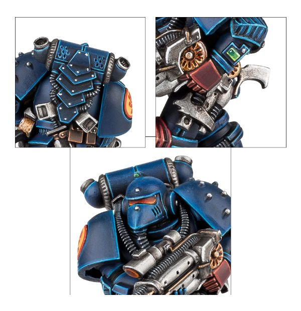 Imperial Space Marine: Official Rules for the Anniversary Model ...
