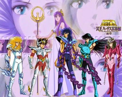 Mengenang Saint Seiya, Anime