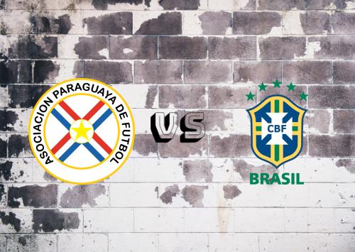 Paraguay vs Brasil  Resumen y Partido Completo