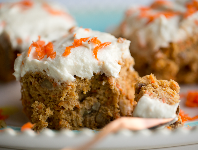 Tofu Carrot Cake Frosting