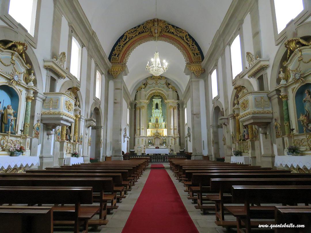 Parque Nacional Peneda-Gerês - Interior da Igreja do Santuário de Nossa Senhora da Peneda