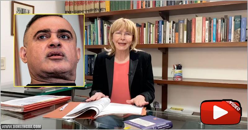 Caso Conkor | Luisa Ortega presenta pruebas que revelan como se enriquece Tarek William Saab