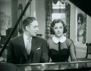 Michael Wilding (above) played Trent opposite the deceased's widow Margaret Lockwood in the 1952 film
