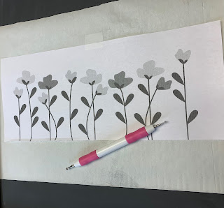 Free Spring Chalkboard Template