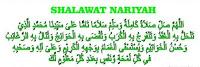 Teks dan Terjemahan sholawat nariyyah