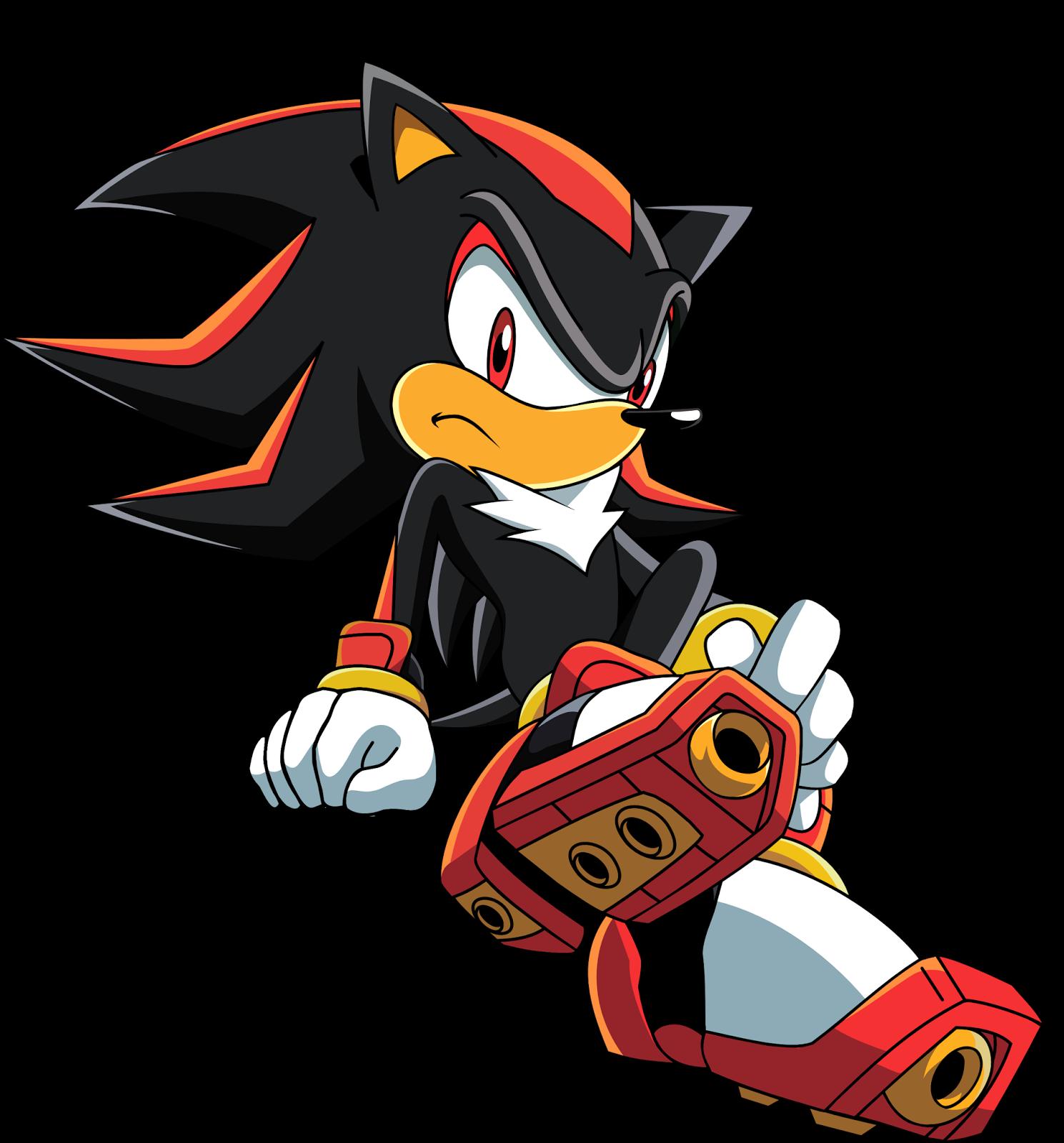 Shadamy fans brazillian shadow sitting sonic x artwork - Sonic et shadow ...