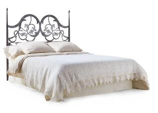 cabecero cama de forja actual