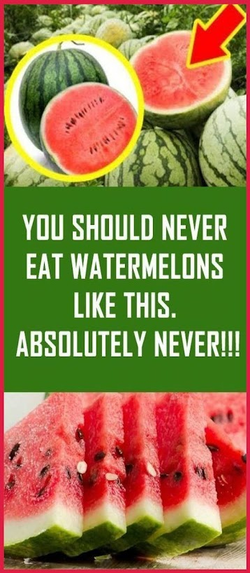 You Should Never Eat Watermelons Like This. Absolutely Never!!!