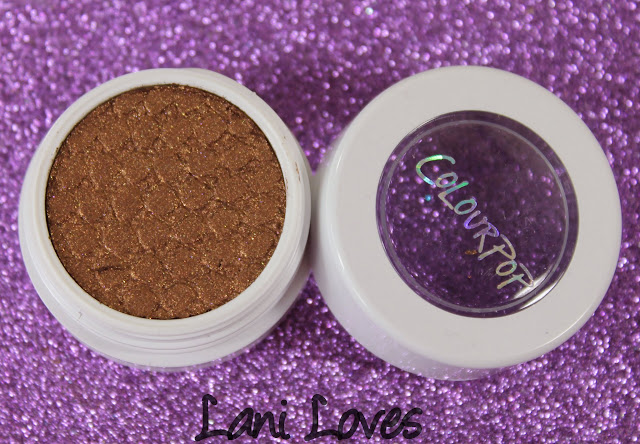 ColourPop Super Shock Shadow - On the Rocks Swatches & Review