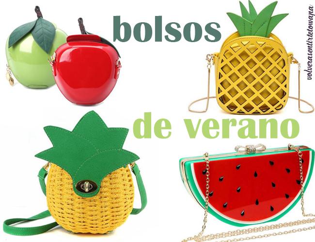 Bolsos con formas de frutas para el verano, de Aliexpress