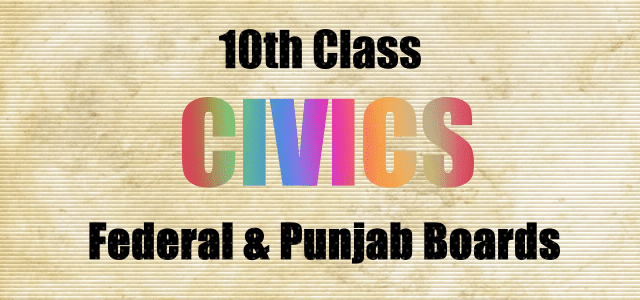 10th Class Civics Notes PDF Download