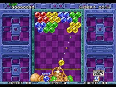 Puzzle Bobble versione arcade