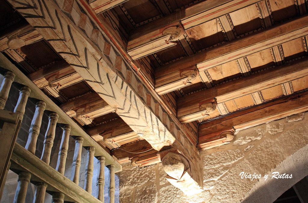 Artesonado de la Iglesia del Monasterio de Xunqueira de Espadanedo