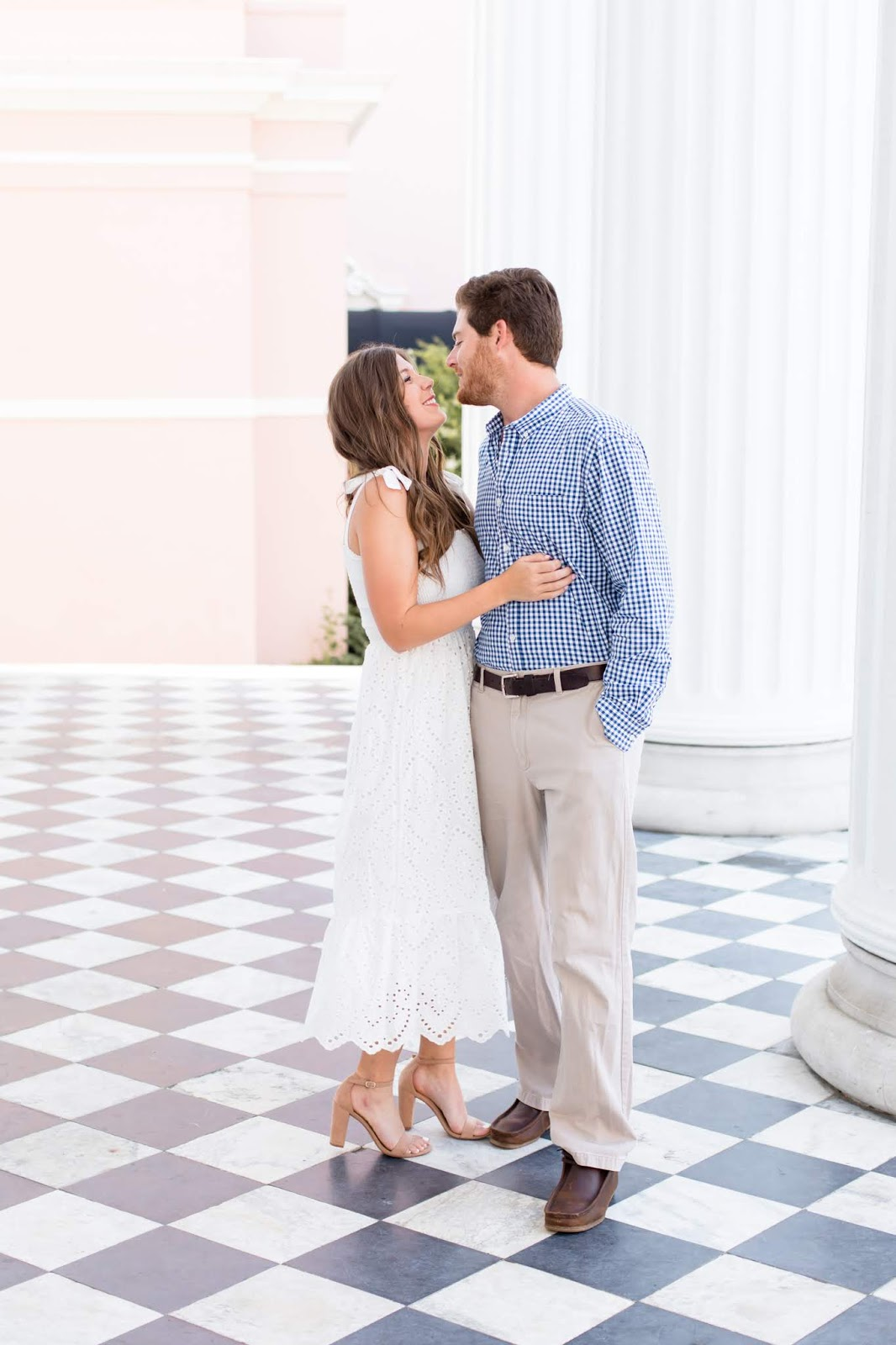 Our Charleston Engagement Photoshoot - Chasing Cinderella