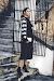 Party Looks: Midi Skirt+Bomber