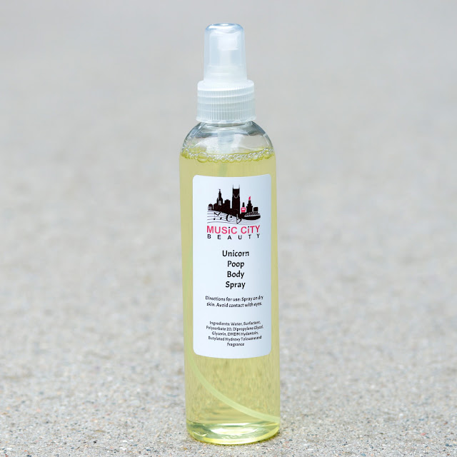 Music City Beauty Unicorn Poop Body Spray
